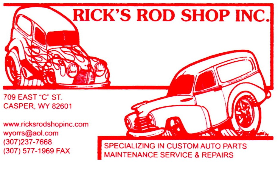 Rick's Rod Shop